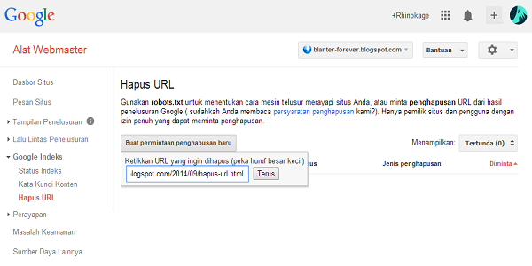 Hapus URL-2