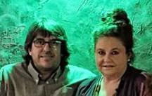 Antonio Ruiz Molero y Silvi Calderón