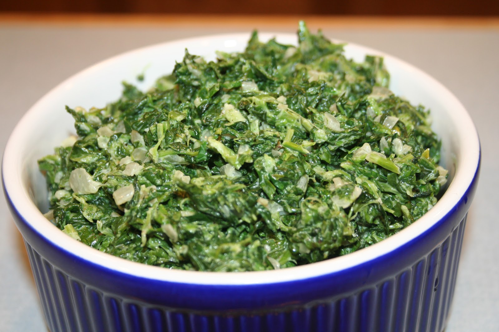 COOK WITH SUSAN: Easy Creamed Spinach