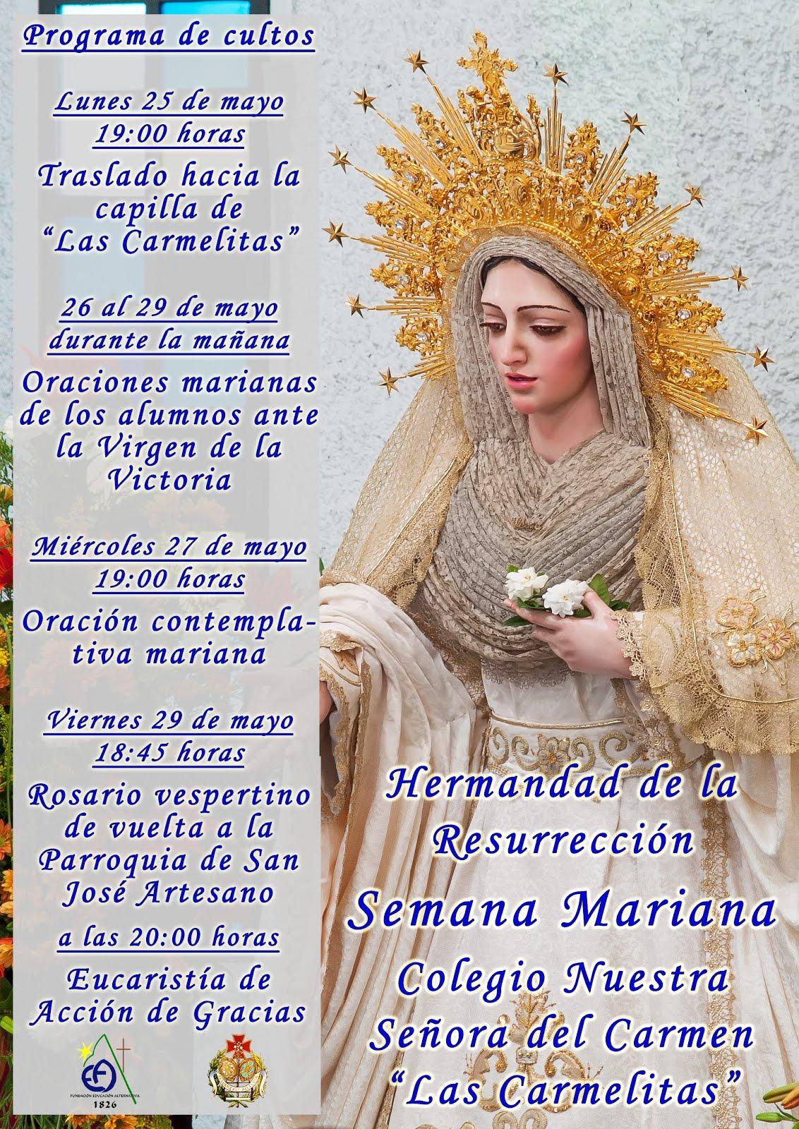 """Semana Mariana en """"Las Carmelias"""""""