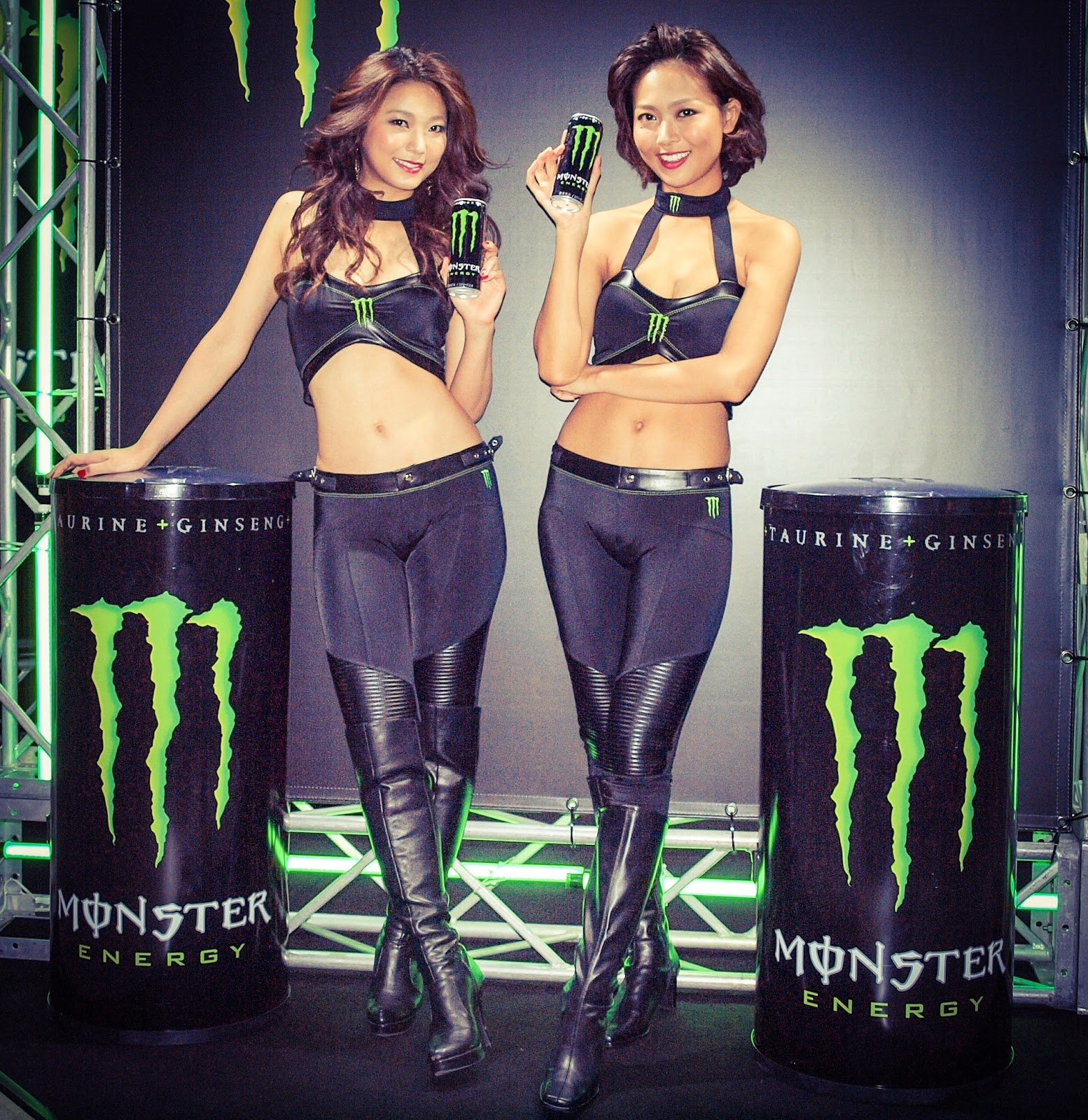 Monster Energy Drink model