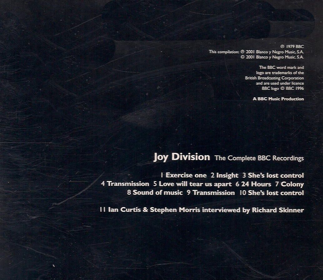 Wet dreams: joy division   the complete bbc recordings (strange ...