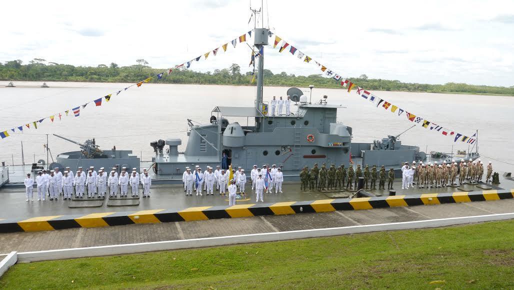 Armada Nacional celebró el aniversario 82 de la Flotilla Fluvial del Sur y la Fuerza de Superficie