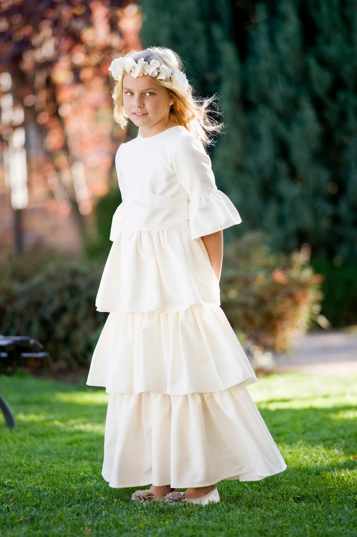 Mi vestido traje de comunión niña