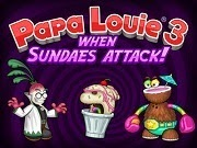 Papa Louie 3 When Sundaes Attack
