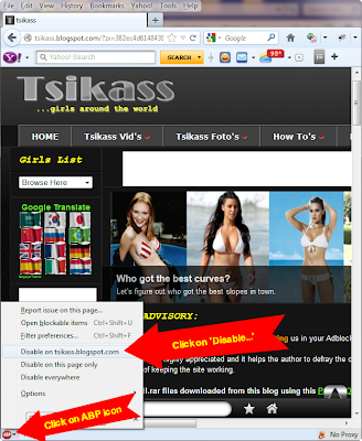 How to Whitelist Tsikass Blog