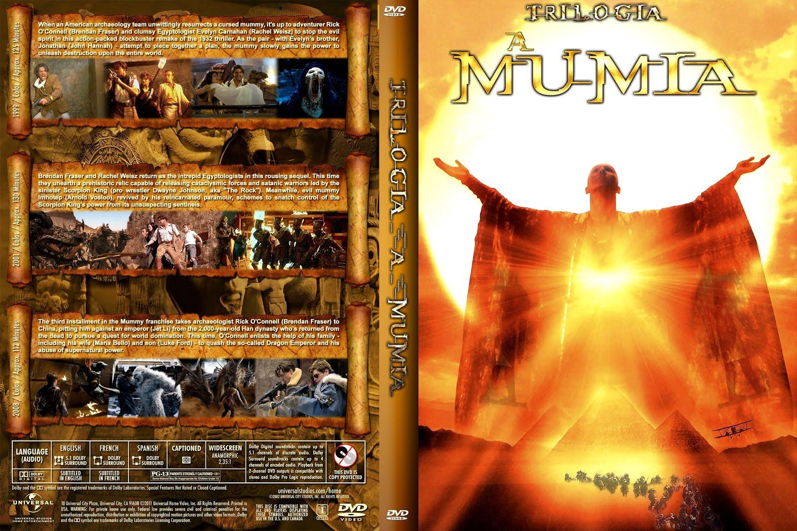 Download Trilogia A Múmia BDRip XviD Dual Áudio  255BShare 2BCapas 2BFornari 255DTRILOGIA A MUMIA