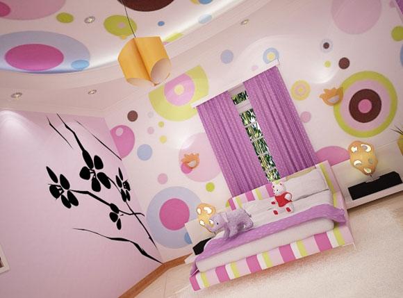 Purple Girls Bedroom Ideas