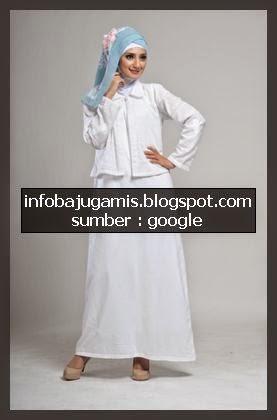 Baju Gamis Gaya Haji Info Model Baju Gamis Terbaru