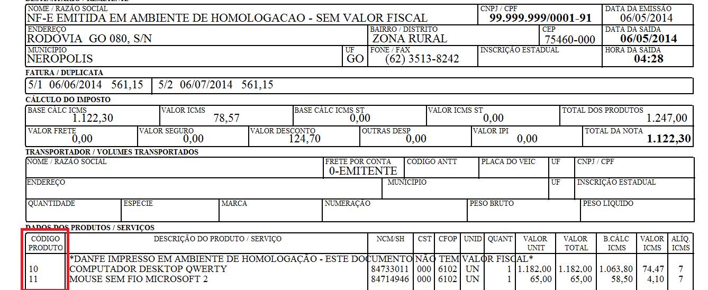 NeXT ERP Cadastro de produtos código alfanumérico fabricante ean original sequencial