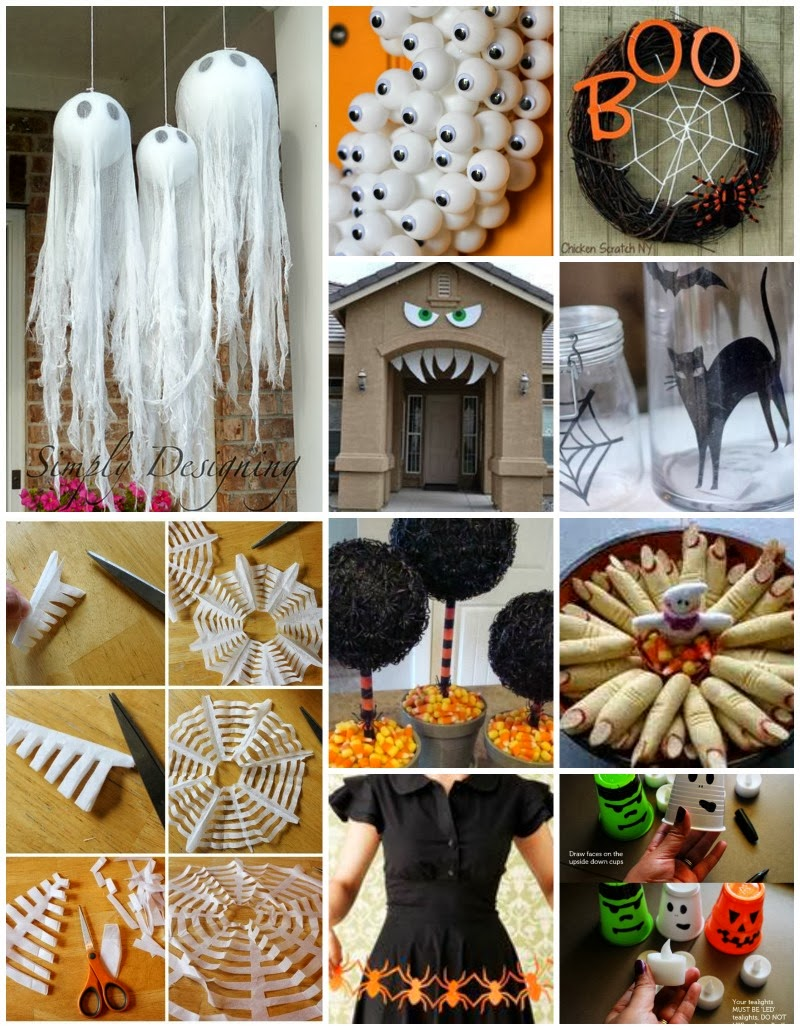 Decoraciones para halloween kireidesign - Decoracion para halloween ...