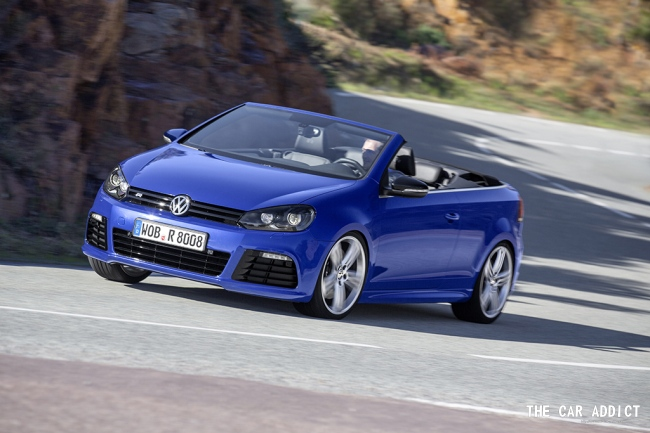 2013 Volkswagen Golf R Convertible