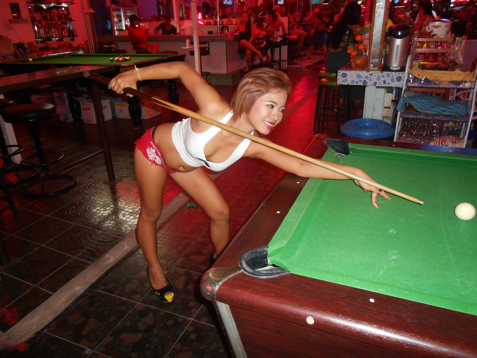 Naked Bar Girl