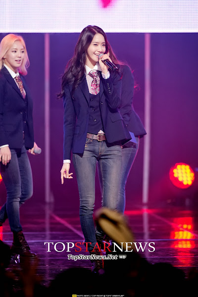 SNSD Yoona Mr Mr Live M! Countdown 140306