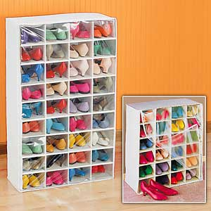 Shoe Organizers are a Closet