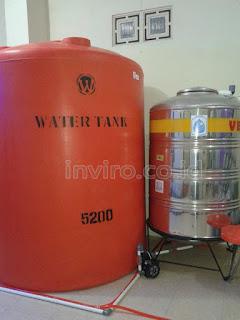 Jual Tandon Penampungan Tangki Air Harga Murah Wonogiri Jawa Tengah