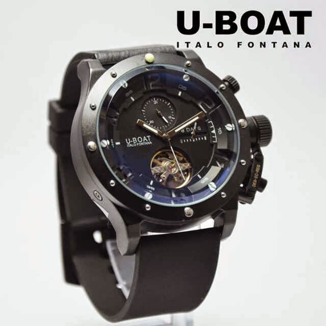 U-Boat Italo Turbilon Black putih