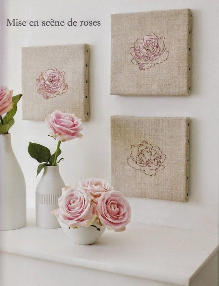 """Вышивка крестом: """"Три розы и"""