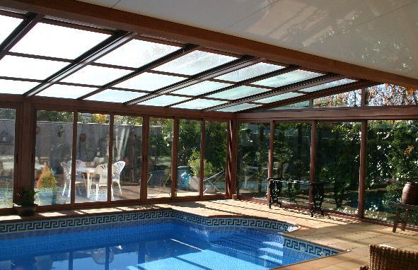 Salida de humos retaurantes casas rurales - Techo piscina cubierta ...