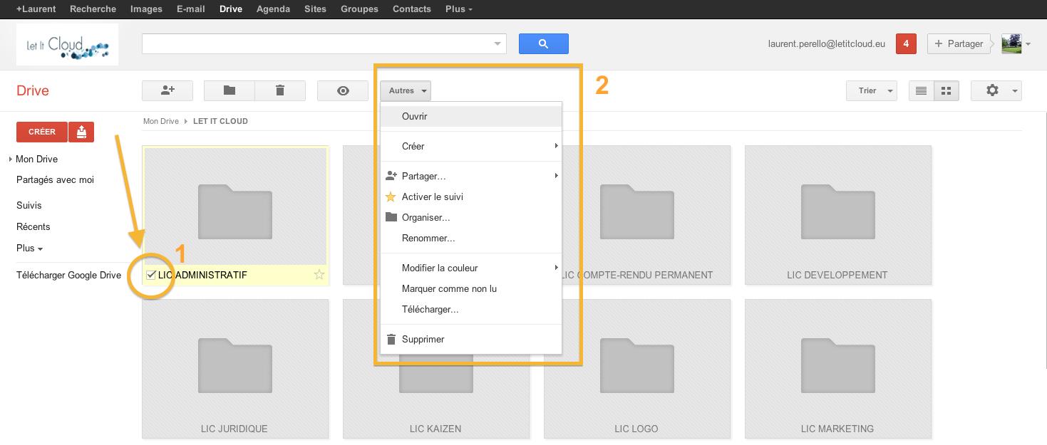 Google drive comment tre plus productif avec les for Ouvrir fenetre popup