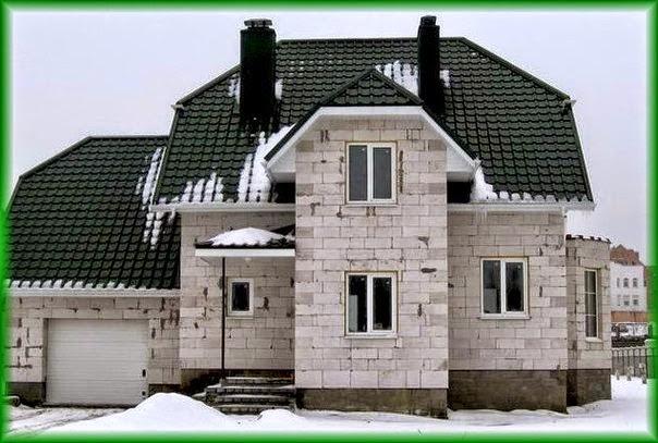 Постройка дома из газосиликатных блоков своими руками