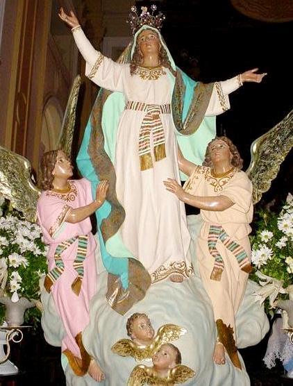 Foto de la Virgen de la Asunción o Nuestra Señora de la Asunción