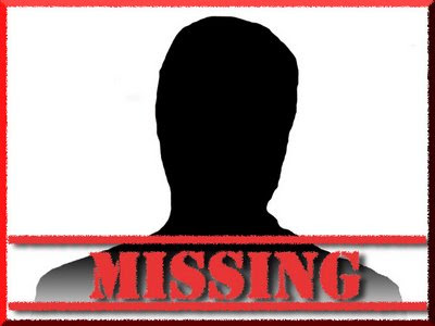 Stellas Musings Land Of The Missing People – Missing Persons Template