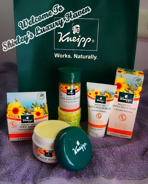 kneipp happy feet collection skincare