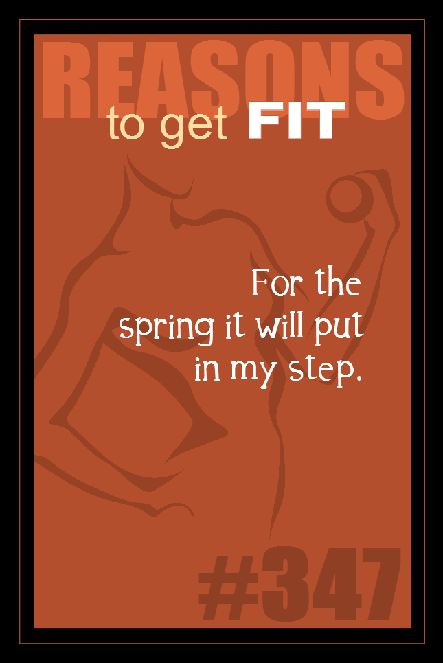 365 Reasons to Get Fit #347