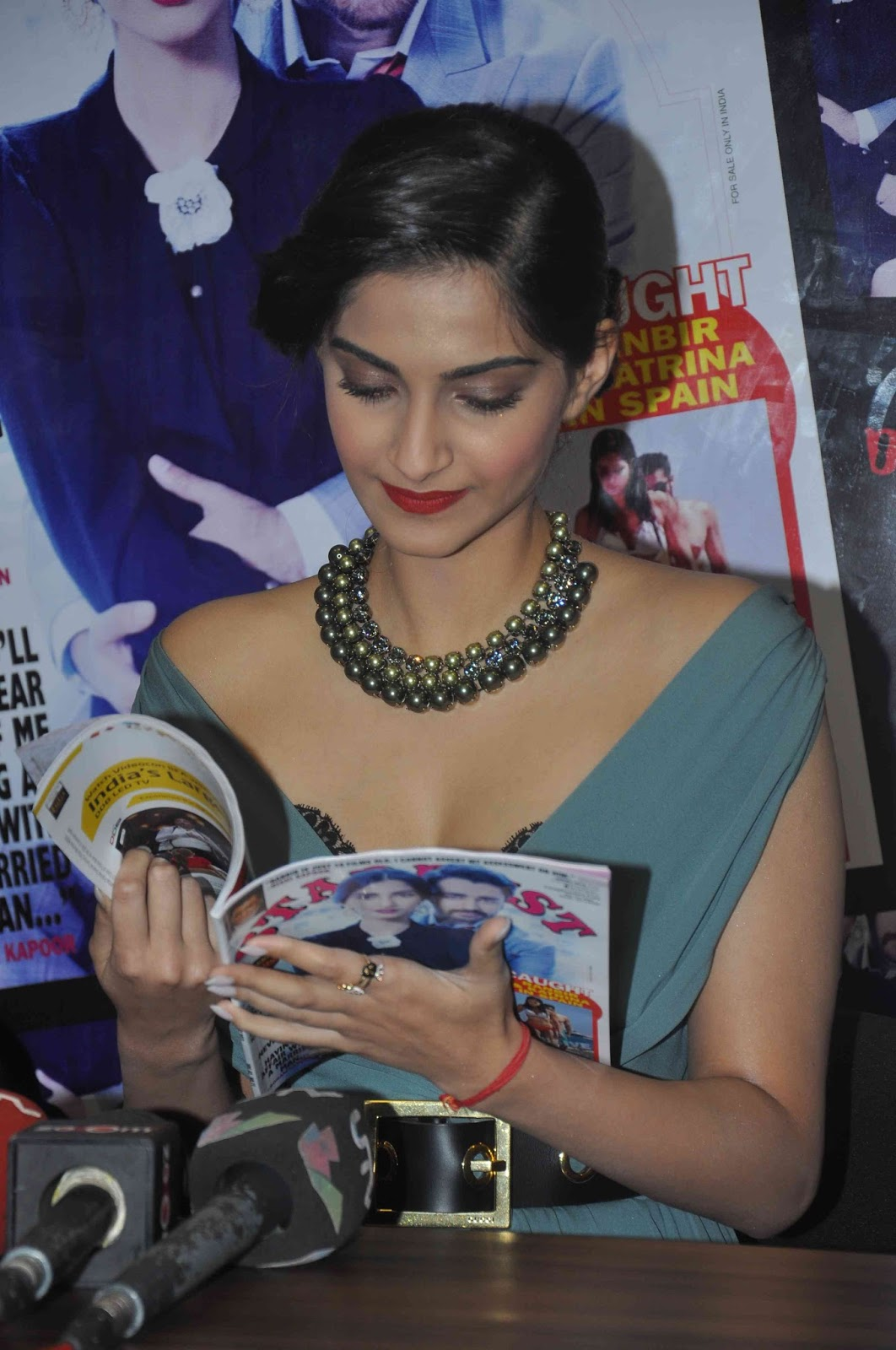 Sonam kapoor showing hot stardust magazine august issue for Full body tattoo porn