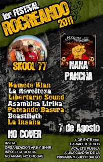 Skool 77 y Nana Pancha en Puebla