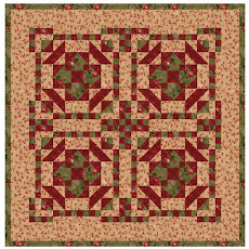 Simple Steps Patterns - Ruby Rose  Quilt  $5