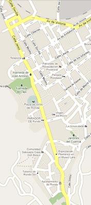 [Viajar] Ronda, mapa del sitio