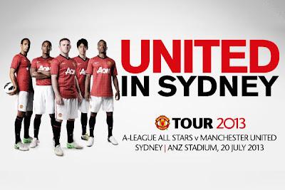 El Manchester United amenazó con no jugar un amistoso en Australia si no retiraban la publicidad de Coca Cola