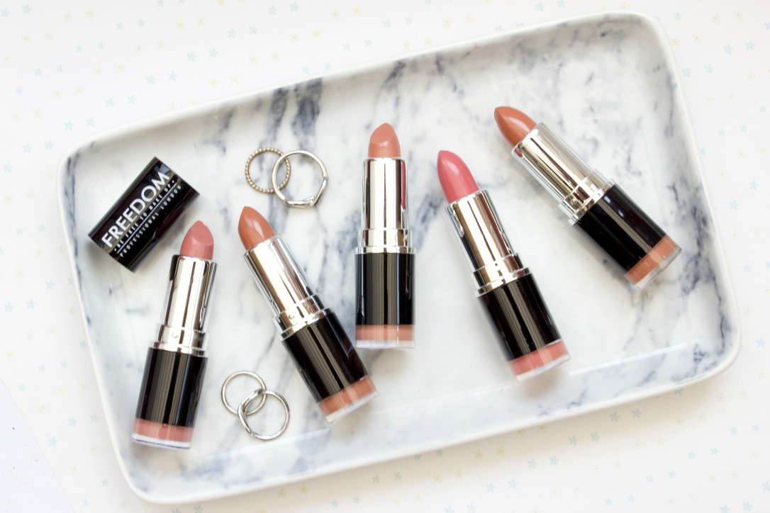 Freedom Makeup Pro Bare Lipstick Collection