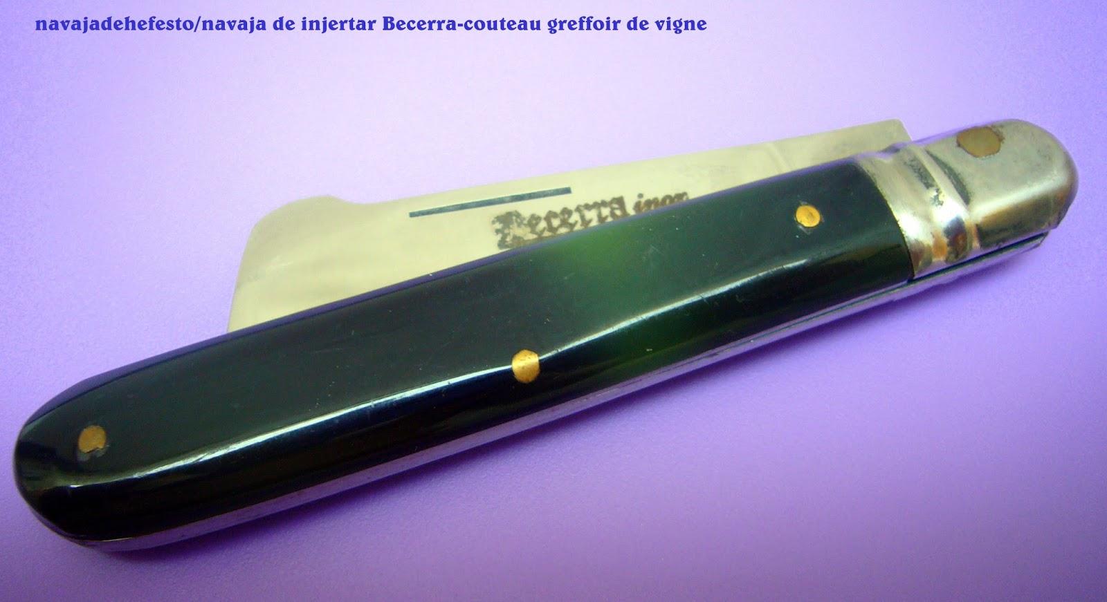 La navaja de hefesto o le petit jardin des couteaux 32 - Navaja de injertar ...