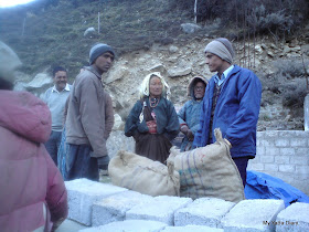 Famous potatoes of the Mana village near Badrinath town in Uttarakhand
