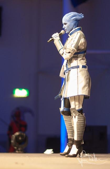 Asari cosplay