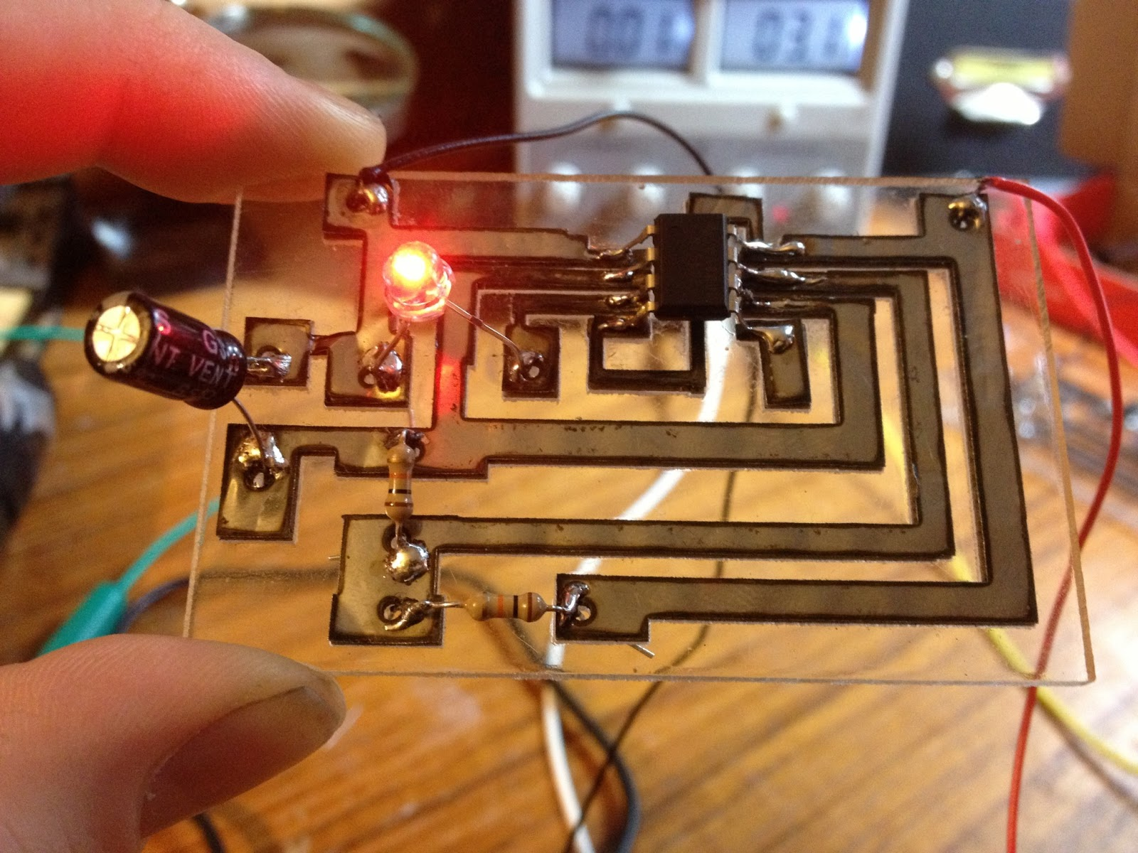 Laser Cut Circuit Boards | Nothing Labs