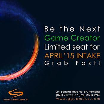 Kursus Design dan Development Game Pertama Di Indonesia !