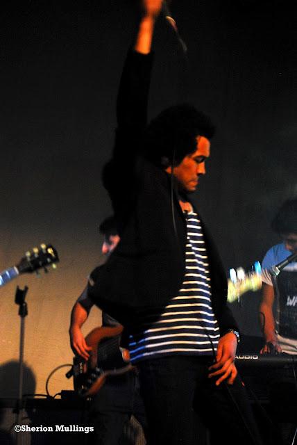 Rufio Summers at Shoreditch fashion show