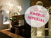 cuba escovada marrom imperial