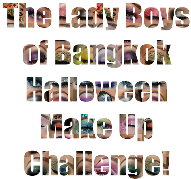 Lady Boys of Bangkok Halloween Make Up Challenge!