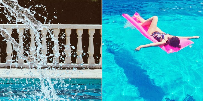 Verano es piscina
