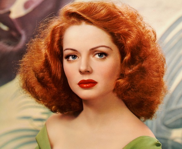 Под рыжие волосы макияж