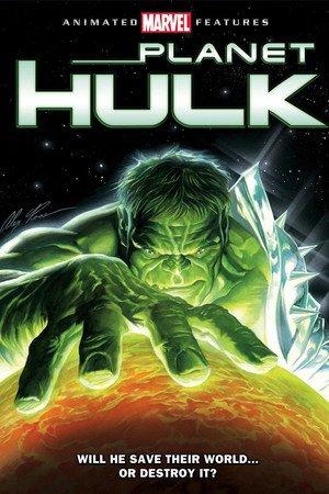 Poster Planet Hulk 2010