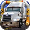 3D Trucker Parking Simulator Game - Real Fun Truck Driving Test Run Car Park Sim Addictive Racing Games Free App iTunes App Icon Logo By Play with Friends - FreeApps.ws