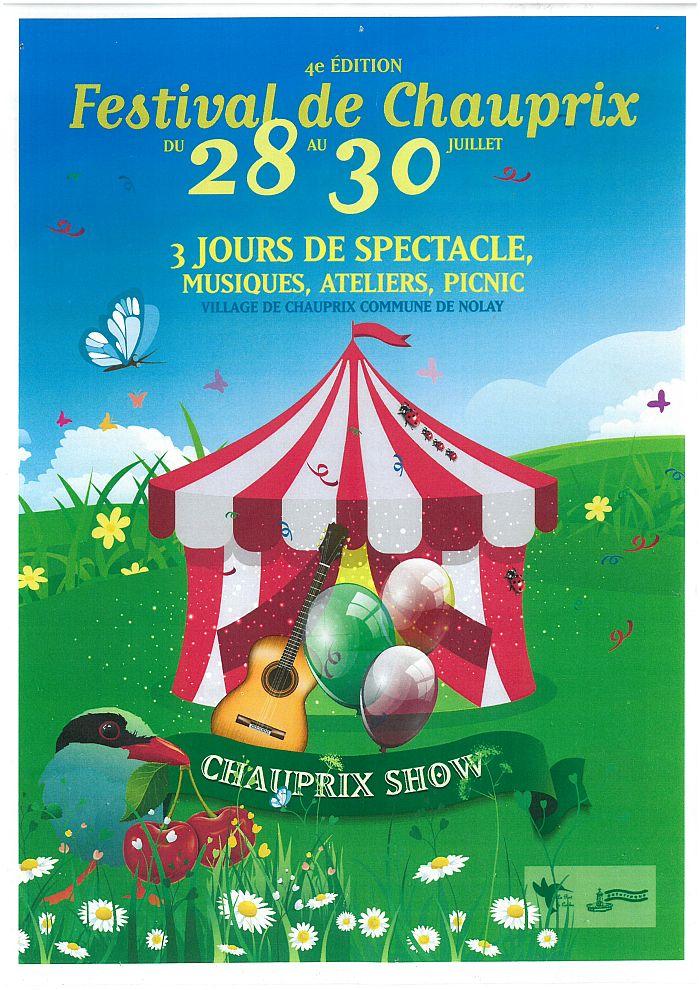 Chauprix Show du 28 au 30 juillet