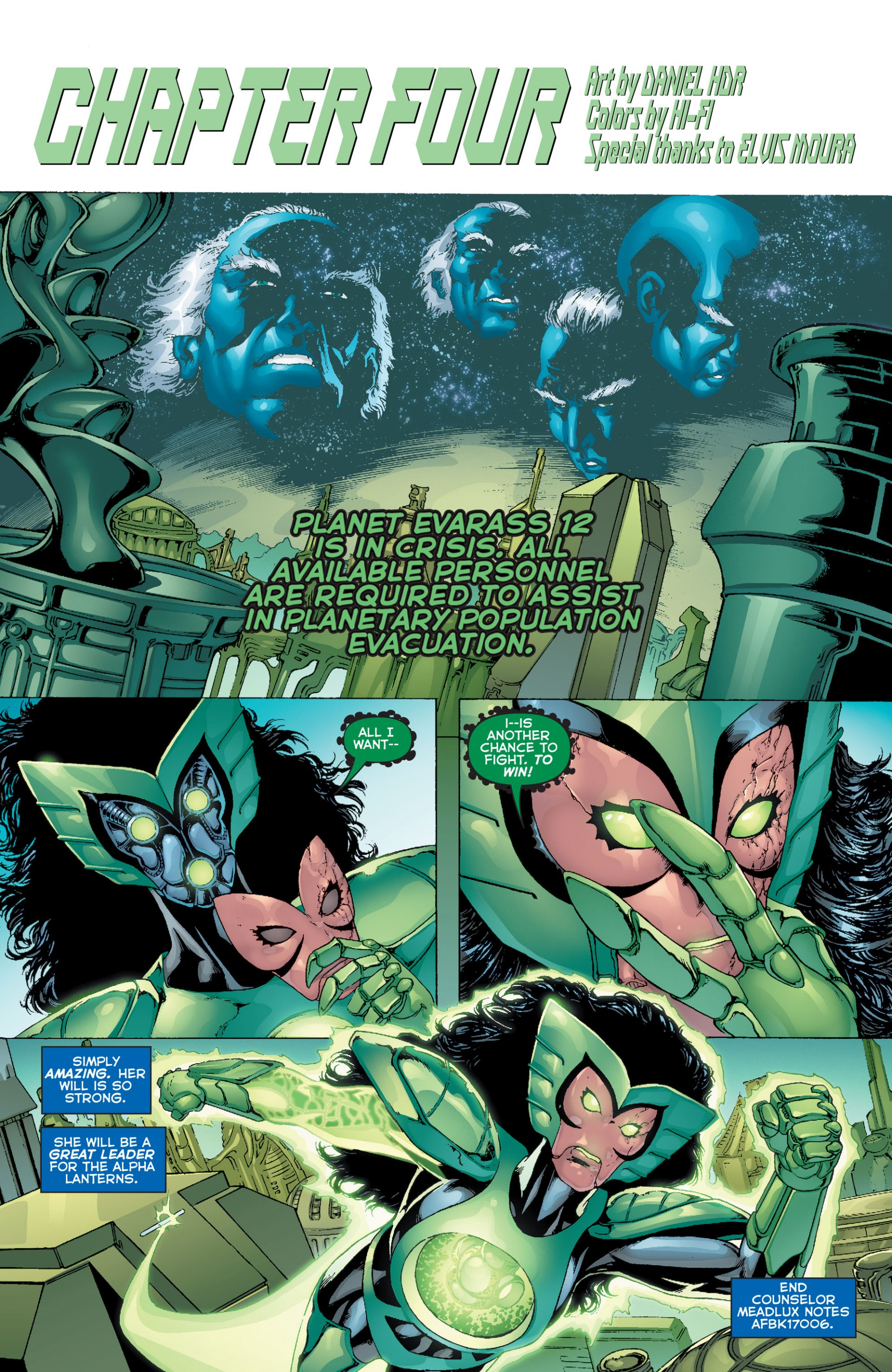 Read online Green Lantern Corps (2006) comic -  Issue #63 - 18