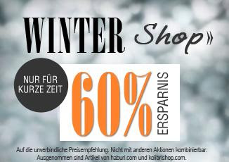Sale bei Dress for Less: Winter-Shop mit 60 Prozent Rabatt